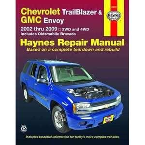 Chevrolet Trailblazer, GMC Envoy & Oldsmobile Bravada