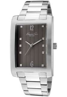 Kenneth Cole Watch KC3882 Mens Brown Textured Dial Stainless Steel