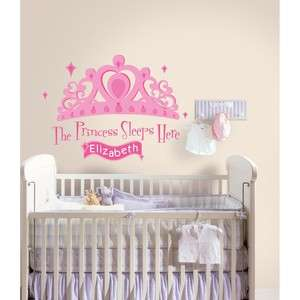WALL DECALS Baby Girls Stickers Pink Nursery Decor 034878302508