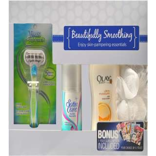 Venus Embrace Beautifully Smoothing Gift Set with Bonus Magazine
