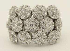Birks Designer 18K White Gold Diamond Ring