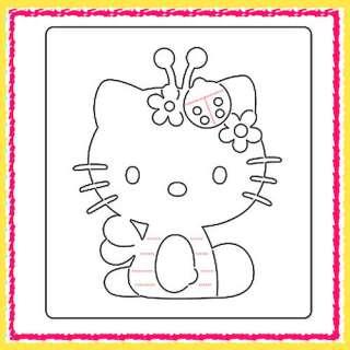 Sizzix Bigz Hello Kitty Bee die #655795 Cuts Fabric