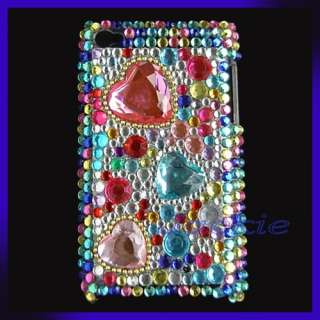 Cute Rhinestone Bling case for iPod Touch 4 4G 4th Gen