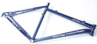 Rocky Mountain Vertex 70 19 Blue MTB Frame NEW