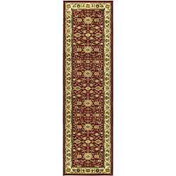 Lyndhurst Collection Majestic Red/ Ivory Runner (23 x 20