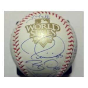 2010 Giants Team Signed World Series Baseball  Sports