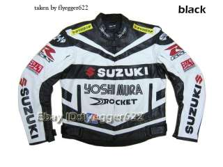 BRAND NEW GP RACING Motorcycle/motorcross/motorbike PU leather jacket