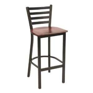 3316 Series Cafe Stool Wood Seat Furniture & Decor
