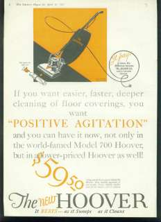 Lot of 1920s Hoover Vacuum Vintage Ads   2