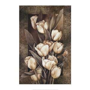Golden Tulips by Linda Thompson 20x28 Home & Kitchen
