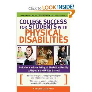 Start reading College Success for Students With Physical Disabilities
