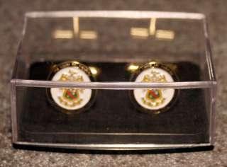 Phi Kappa Psi   24k Gold Cuff Links   NEW
