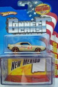 HOT WHEELS CONNECT CAR # 47 NEW MEXICO