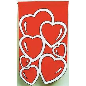 48 Hearts Valentines Day Flag Patio, Lawn & Garden