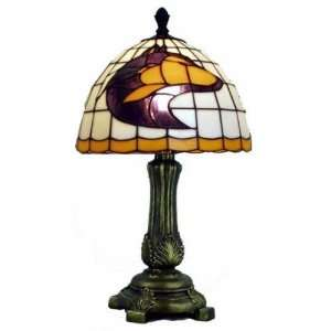Huskies Tiffany/Stained Glass Accent Lamp