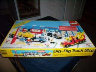 Lego Legoland Town System 6393 Big Rig Truck Stop Box, Instructions