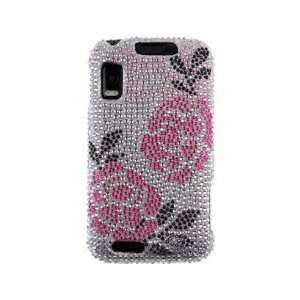 Case Winter Rose For Motorola ATRIX 4G Cell Phones & Accessories