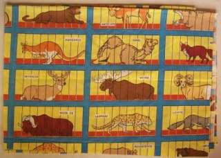 ANIMAL CRACKER Twin Sheet 3pc Set Flat Fitted Pillowcase fabric