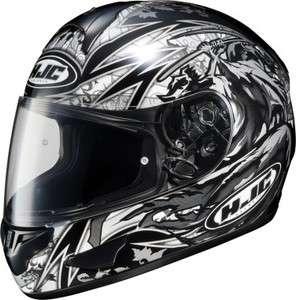 HJC CL 16 Slayer Black Full Face Helmet Snell 2010