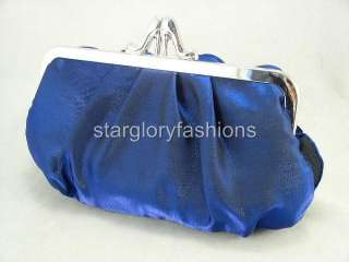 Charming Satin Wedding/Party Clutch Pleated 7 Colors