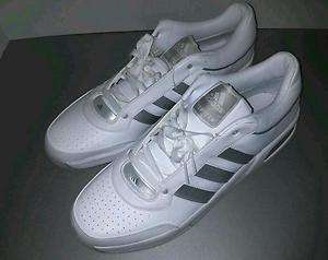 Adidas New Top Ten Low White Basketball Shoes Size 19
