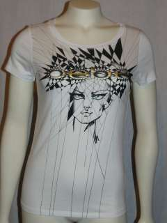 BIG SALE PRICES *xs*s*m*l* BEBE LOGO tee shirt top *white* tons to