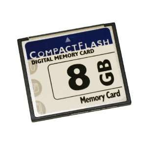 Compact Flash Digital Memory Card, 8GB Electronics