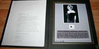 Movie Star Marilyn Monroe Personally Worn Dress w/ COA
