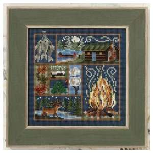 Cabin Fever   Cross Stitch Kit: Arts, Crafts & Sewing