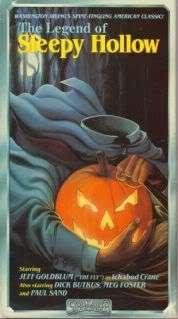 VHS   The Legend Of Sleepy Hollow (1988) *Jeff Goldblum / Meg Foster