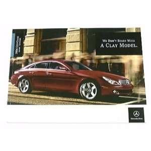 2006 06 Mercedes CLS CLASS BROCHURE CLS500 CLS55 AMG 55