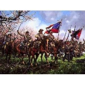 John Paul Strain   Charge Through the Peach Orchard