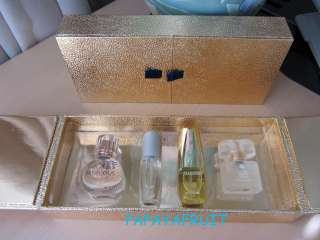 NIB Estee Lauder Perfume Set~BEAUTIFUL, SENSUOUS, PURE WHITE LINEN and