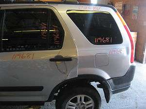 02 03 04 05 06 HONDA CRV L. REAR DOOR GLASS PRIVACY