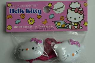 Lovely & Cute A Pair Of Hello Kitty Hair Ties/Hair Accessories  FREE