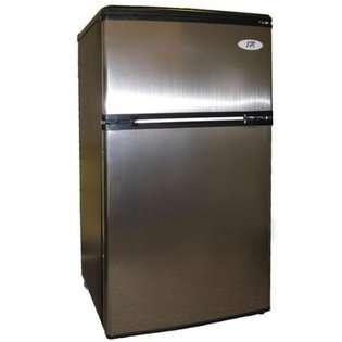 Sunpentown SPT Energy Star 3.2 cu.ft. Double Door Refrigerator in