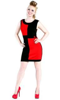 Mini Dress on Sourpuss Mod Mini Dress 60s Rockabilly Twiggy Red Black