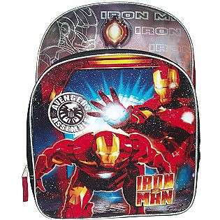 Iron Man Light Up Backpack  Kids Charter Fitness & Sports Camping