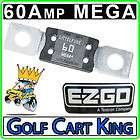 Amp MEGA Battery Charger Loom Receptacle Fuse (94+) Electric Golf Cart