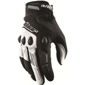 Thor MX Impact Mens Off Road Motorcycle Gloves   Black