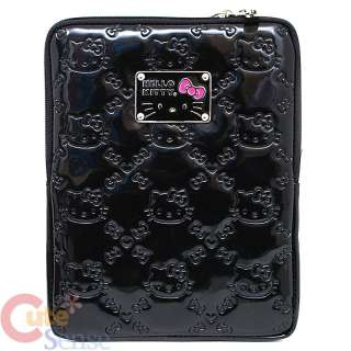Sanrio Hello Kitty Black Embossed I Pad Case bag ipad3 ipad4 Loungefly