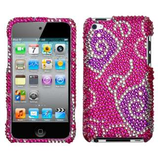 Butterfly Bling Hard Case Cover Samsung Galaxy S2 Sprint Epic 4G Touch