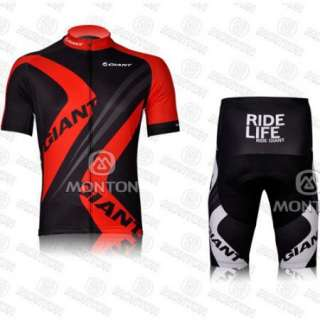 Cycling Bicycle bike Comfortable Outdoor Jersey + Shorts Size M  XXL