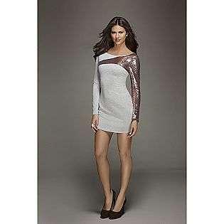 Split Sleeve Dress  Kardashian Kollection Clothing Womens Dresses