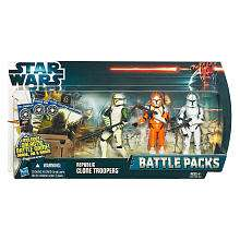 Star Wars Battle Pack Action Figure   Clone Wars Republic Troop