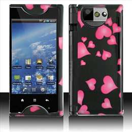 Hearts Hard Case Cover for Sprint Kyocera Echo M9300 Accessory