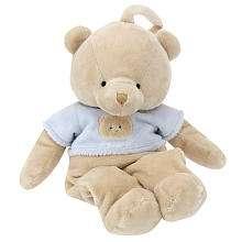 FAO Schwarz 12 inch Teddy Bear Musical Crib Toy   Tan   FAO Schwarz