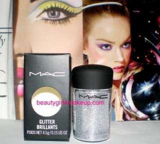 MAC Cosmetics Glitter Pigment Brillants MANY COLORS nib