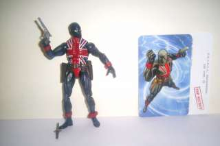 Marvel Universe 2009 UNION JACK #026 26 legends w card