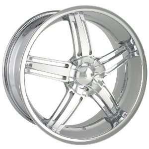 20 Inch 20x8.5 Dip wheels AMBUSH D68 Chrome wheels rims Automotive